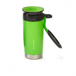 WOW Sports bottle Green 400ml Stainless steel