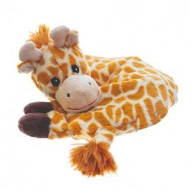 Habibi Plys -Skuldervarmer Giraf m. udtagelig varmepose
