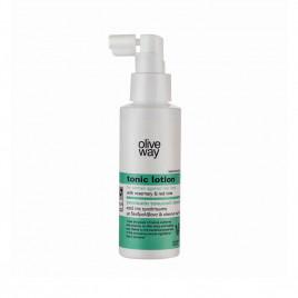 Oliveway toning lotion mod hårtab