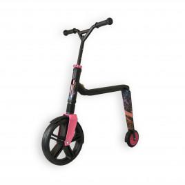 Scoot and Ride Highwaygangster, sort/lyserød/blå
