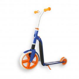 Scoot and Ride Highwaygangster, hvid/blå/orange