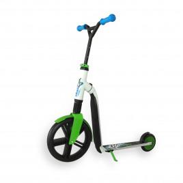 Scoot and Ride Highwaygangster, hvid/blå/grøn