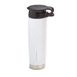 WOW Sports bottle WHITE 650ml stainless steel